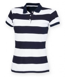 frontrow_co-womens-striped-pique-polo-shirt-fr211-navywhite